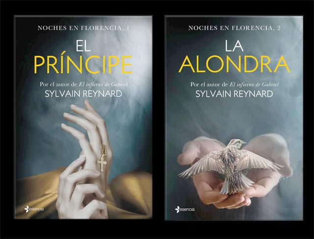 Imagen de las portadas de El Principe y La Alondra