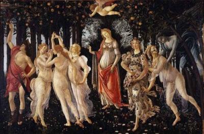 La Primavera de Botticelli en El Príncipe de Sylvain Reynard