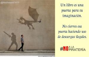 Los libros son fuentes de inspiración. #NOalaPIRATERIA