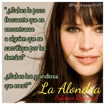 """Ep 36: Capítulo 25 #LaAlondra: """"¿Sabes lo grandiosa que eres?"""""""