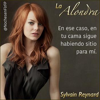 """Ep44:Aoibhe: """"En tu cama sigue habiendo sitio para mí."""" (La Alondra – Sylvain Reynard)"""